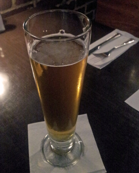 Kolsch. Portland practically mandates beer and this Widmer Brothers was a nice choice